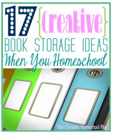 17 Creative Book Storage Ideas When You Homeschool