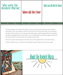About Ancient Maya minibook 1