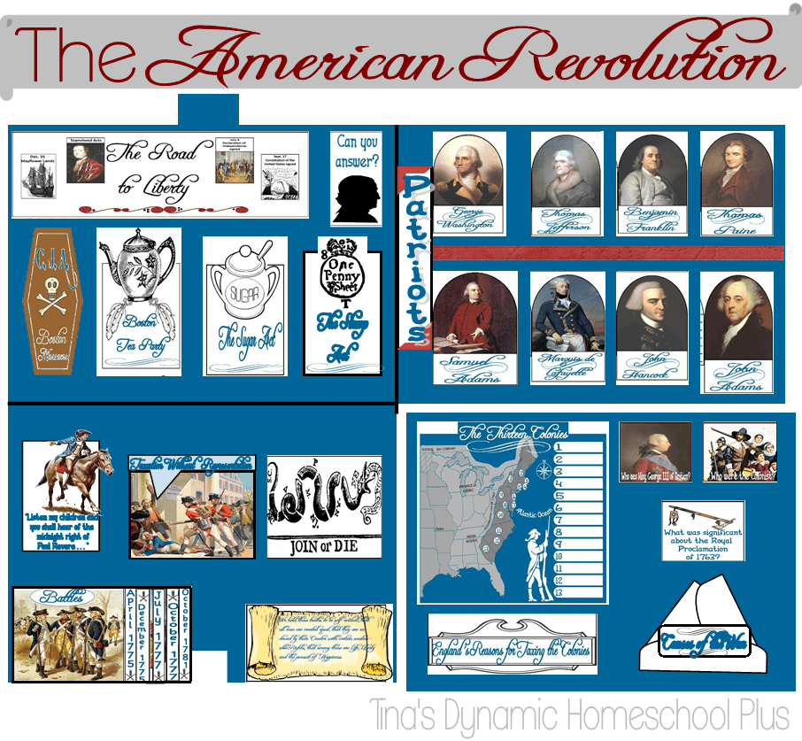 American Revolution Unit Study and Lapbook 1775 – 1783