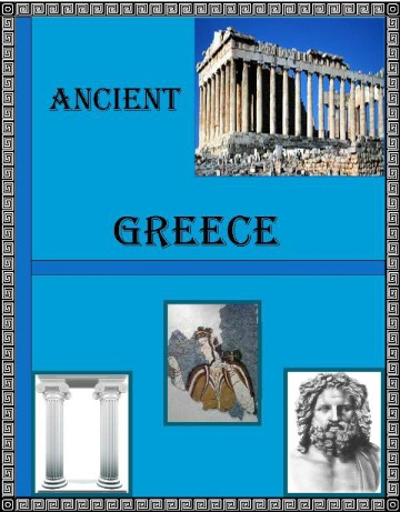 Ancient Greece Cover 1 for Ancient Greece Lapbook @ Tina's Dynamic Homeschool Plus