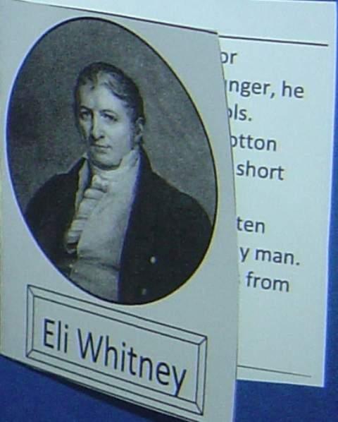 Eli Whitney Minibook