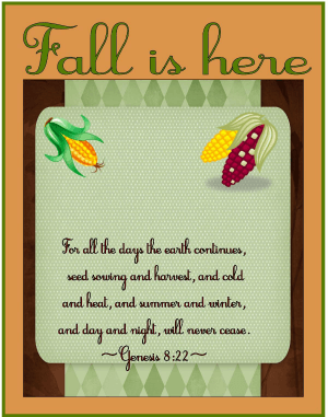 Fall Unit 1 {Pumpkins, Leaves, Corn, & More}