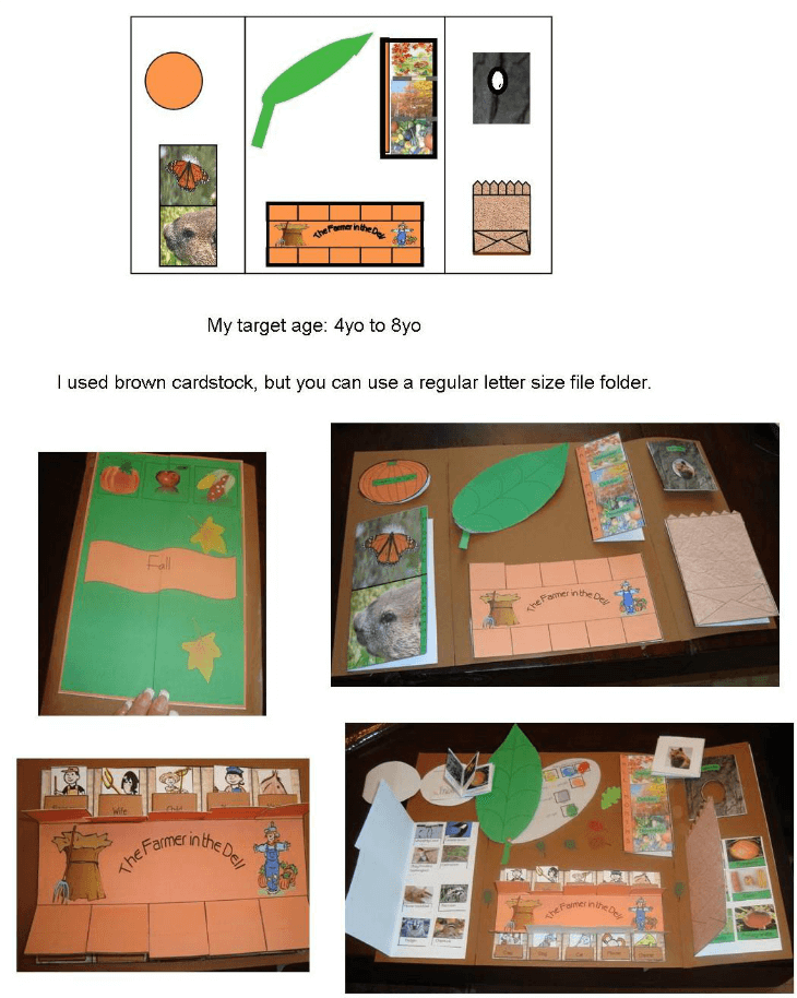 Free Fall Lapbook Ages 4 - 8 @ Tina's Dynamic Homeschool Plus