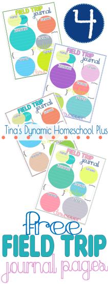 Homeschool Field Trip Journal