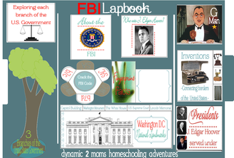 FBI Unit Study and Free Lapbook | Tina's Dynamic Homeschool Plus