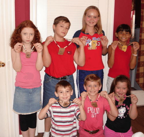 Leather Pouches @ Tina's Dynamic Homeschool Plus