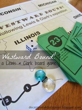 Lewis and Clark Board Game