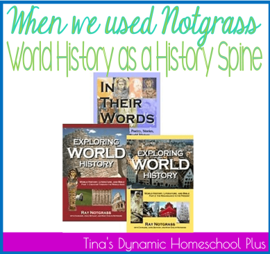 Notgrass History Spine