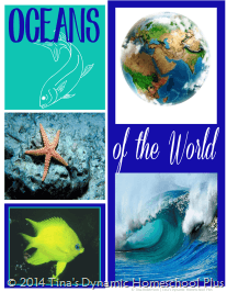 Ocean Lapbook Cover Option 1 @ Tina's Dynamic Homeschool Plus