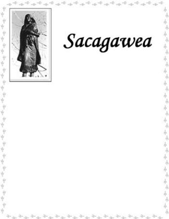 Sacagawea NB-BW
