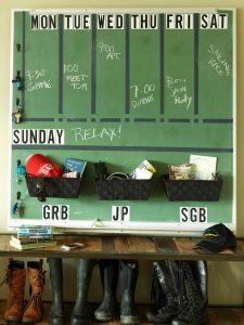 Chalkboard Memo Board