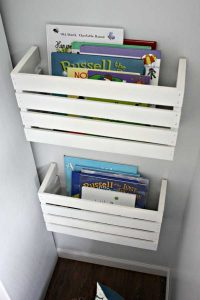 Crate Book Holders
