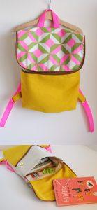 DIY Geometric Backpack