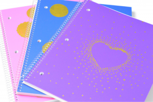 DIY Glam Notebooks