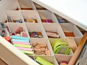 Supply Divider Drawer