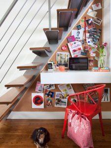 Under Stairs Shelf