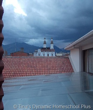 Cuenca View from  our room