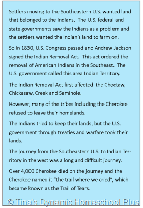 indian removal act of 1831 essay The trail of tears — the indian removals  when the indian removal act was passed,  in 1831 the supreme court decided that the cherokee nation wasn.