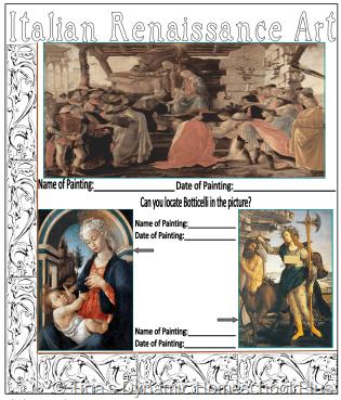 Botticelli, Primavera & his other art 3