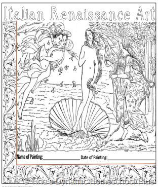 Botticelli, Primavera & his other art 4