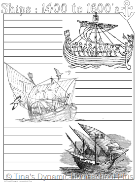 Ships of the 14th to 16th centuries.