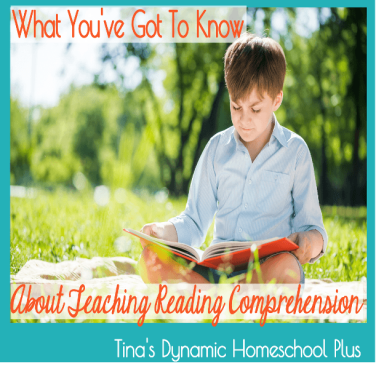 What You've Got to Know About Teaching Reading Comprehension
