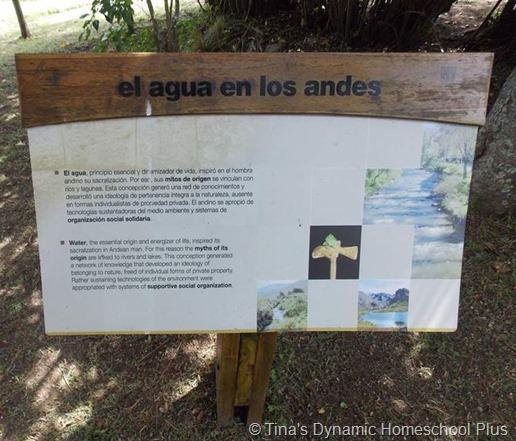 Agua Los Andes