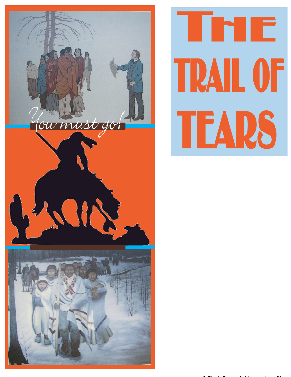 the injustices and inhumanity in the trail of tears Forcibly expelled from their ancestral homeland and relocated to the oklahoma  territory, by way of what is now known as the trail of tears.