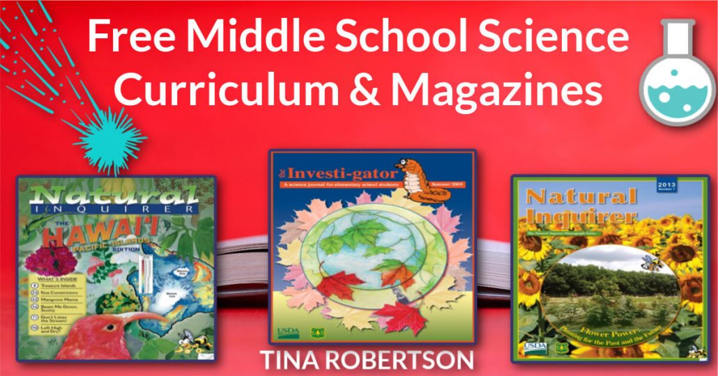 Free Middle School Science Curriculum and Magazines
