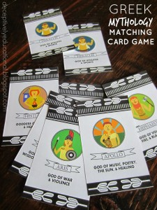 Greek Mythology Matching Game_General
