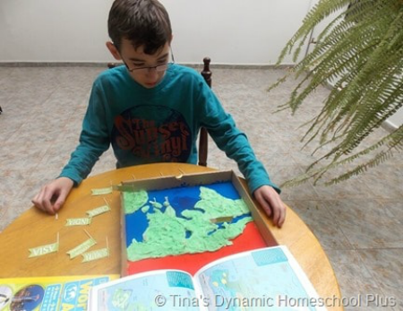 Marco Polo Salt Dough Geography @ Tina's Dynamic Homeschool Plus