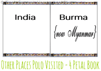 Other Places Polo Visited 4 Petal Book @ Tina's Dynamic Homeschool Plus