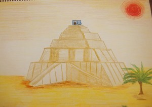 ziggurat-drawing