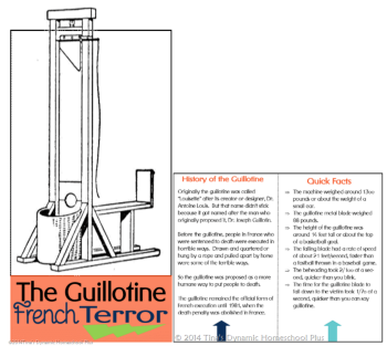 Guillotine French Terror