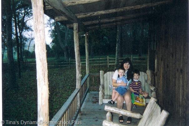 cabin homeschooling