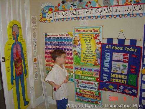 homeschool room younger years-1