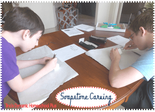 Arctic Soapstone Carving @ Tina's Dynamic Homeschool Plus