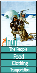 Printable Inuit Minibook @ Tina's Dynamic Homeschool Plus