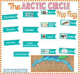 The Arctic Circle Map @ Tina's Dynamic Homeschool Plus