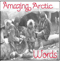 Amazing Arctic Words Minibook @ Tina's Dynamic Homeschool Plus