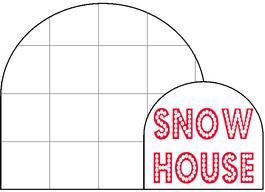 Snow House Minibook @ Tina's Dynamic Homeschool Plus