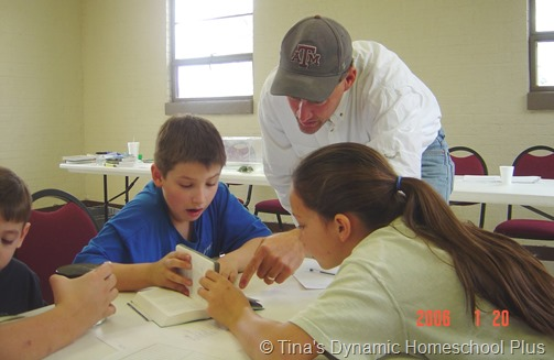 Homeschooling Learning at a 4H Club with others