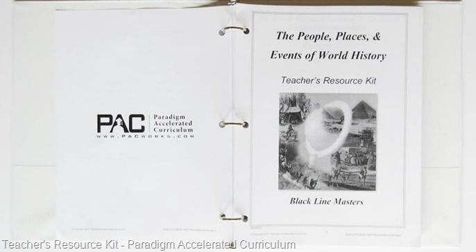 Teacher Resource Kit - PAC @ Tina's Dynamic Homeschool Plus