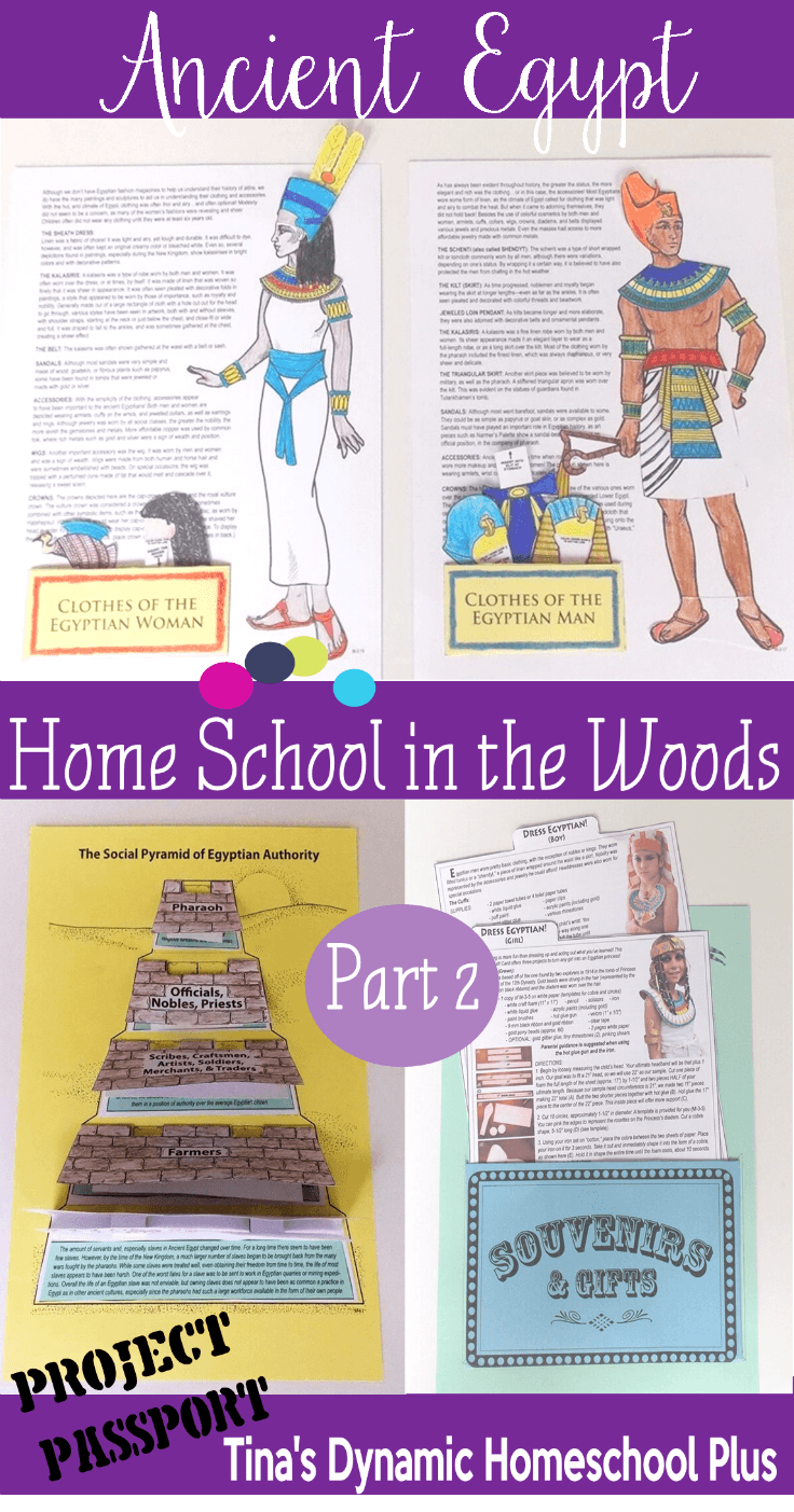 Ancient Egypt Unit Study  Part 2@ Tina's Dynamic Homeschool Plus