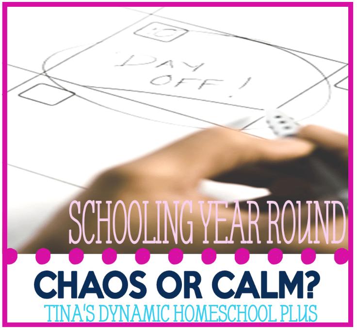Homeschooling Year Round @ Tina's Dynamic Homeschool Plus
