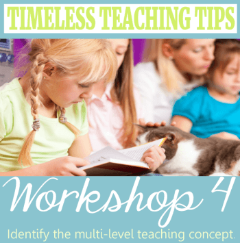Workshop 4 Timeless Teaching Tips Header350x