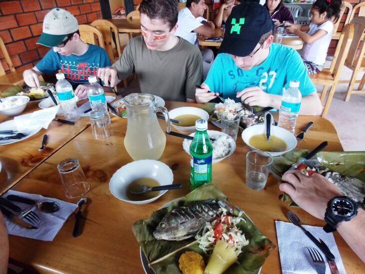 9 Fish cooked in banana leaves