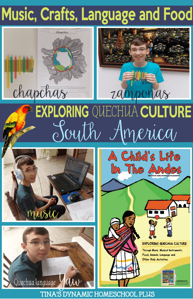 A Child's Life In the Andes Ebook Review @ Tina's Dynamic Homeschool Plus
