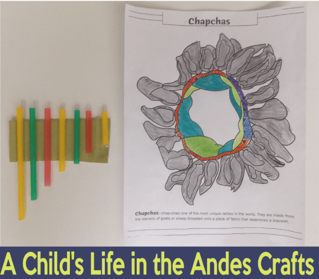 A Child's Life in the Andes Craft @ Tina's Dynamic Homeschool Plus