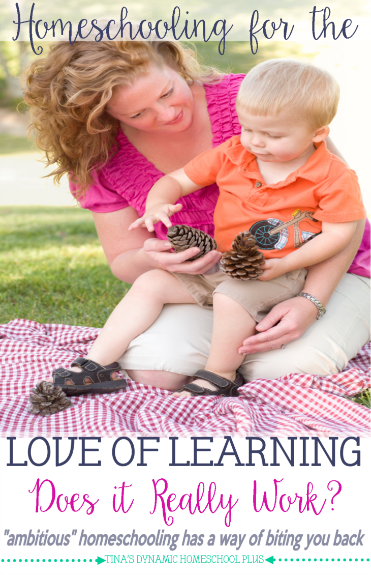 Homeschooling for the Love of Learning - Does It Really Work @ Tina's Dynamic Homeschool Plus
